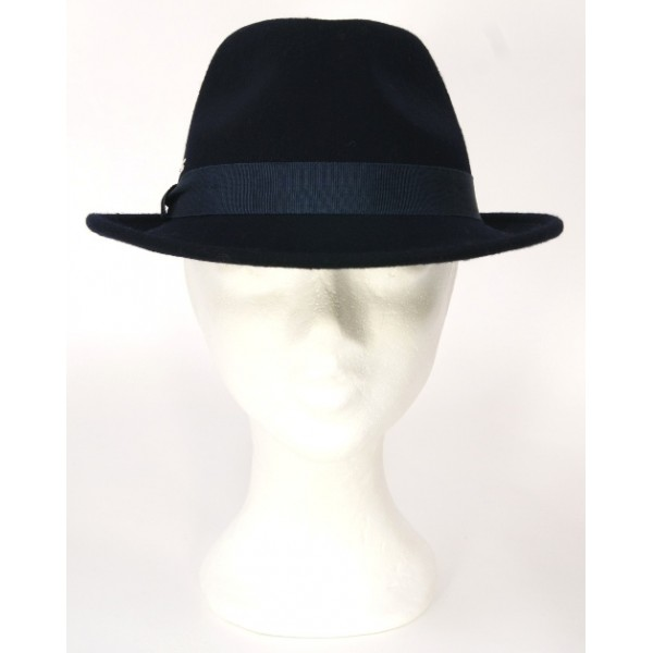 Seeberger Trilby Hoed | Navy