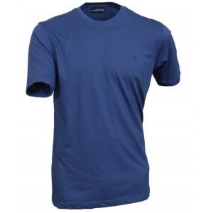 T-Shirt Denim Blauw