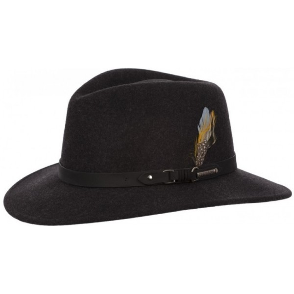 Hoed Stetson Antraciet Maat 58/59